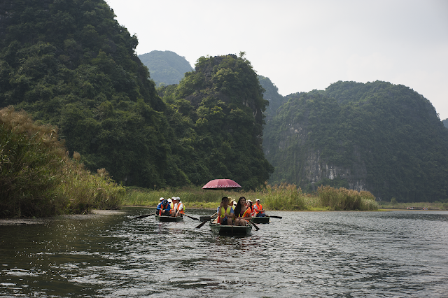 Du lịch tràng An, Ninh Bình 2018