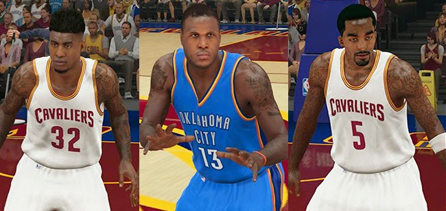 NBA 2K15 Roster Update 01/06/14 - Cavs/Knicks/OKC Trade