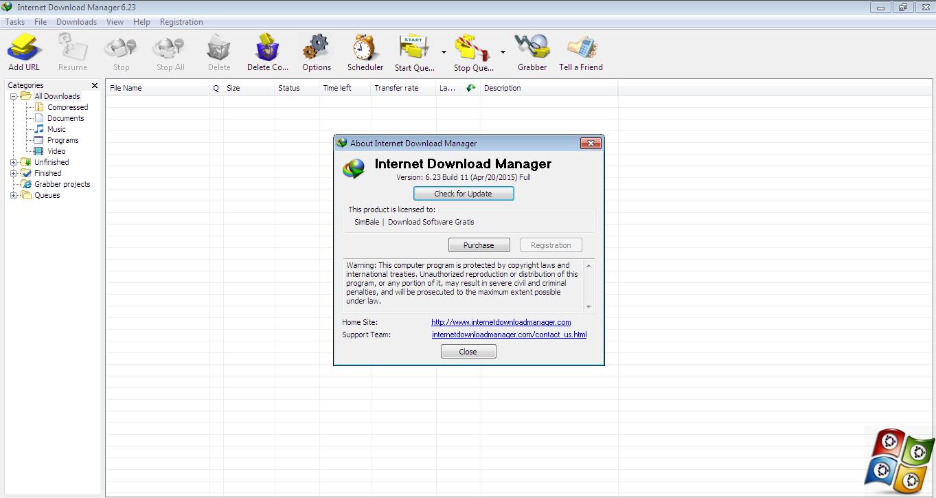 Download Internet Download Manager 6.23 Build 11 Full Version