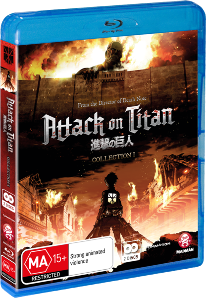 Attack on Titan Collection 1 (Blu Ray) Review