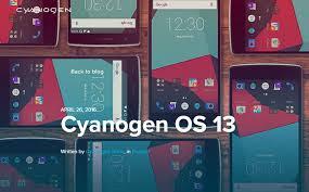 Nuova ROM Android Cyanogen OS 13.1