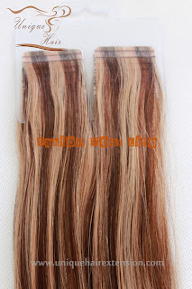 cuticle remy tape hair extensions