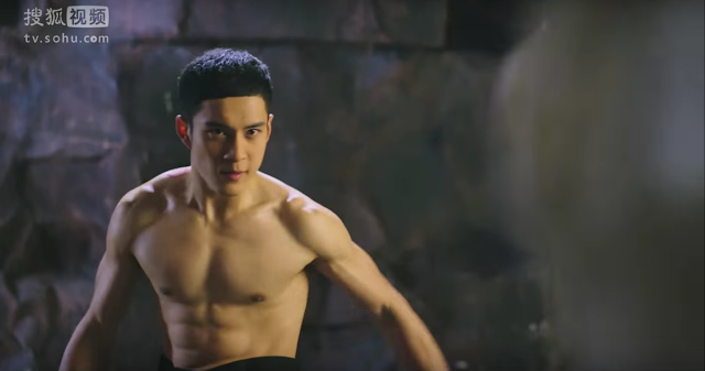 Chinese actor Elvis Han Dong Jun in Monster Killer