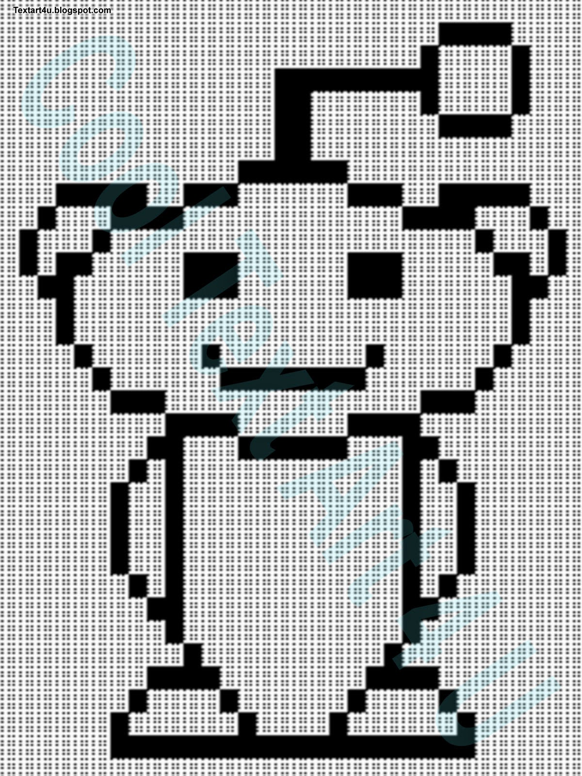 ascii text art reddit alien with copy paste code