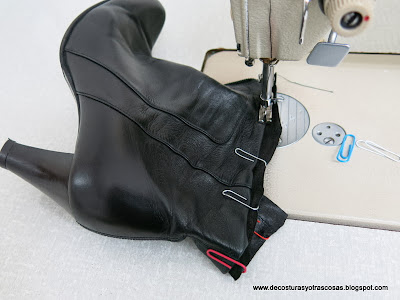 coser-piel-bota