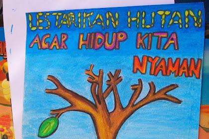 Poster Tentang Lingkungan Hidup Yang Mudah Digambar