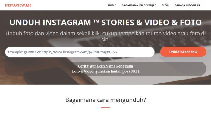 Instaview - Download Foto dan Video Instagram