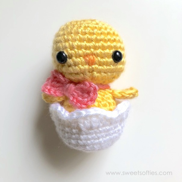 Baby Chick in Easter Egg by Sweet Softies