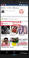 how to hide friendlist facebook