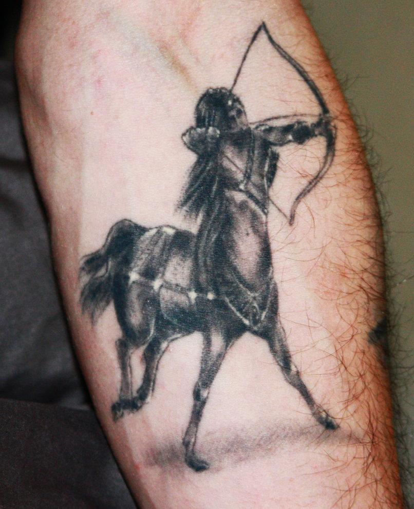 sagittarius tattoos design