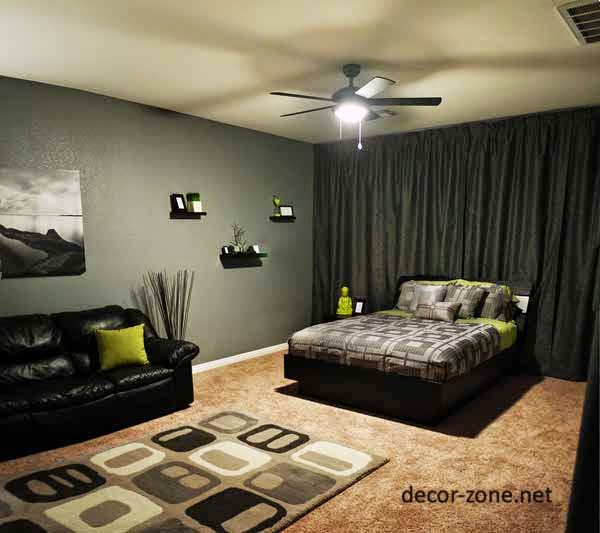 Easy To Clean Sofa Material Pottery Barn Cameron Creative Men's Bedroom Decorating Ideas And Tips