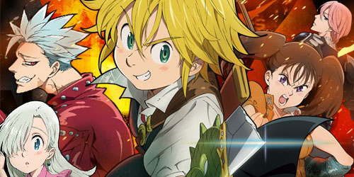 Anunciada segunda temporada do anime Nanatsu no Taizai!