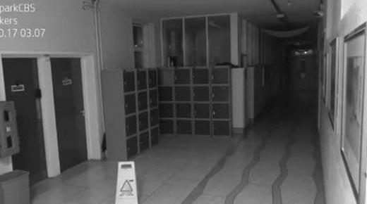 'Poltergeist' capturado en la cámara en Irlanda
