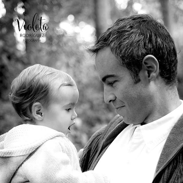 Foto de papá con su bebé