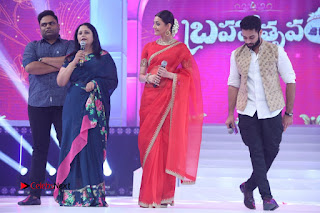 Actress Kajal Agarwal Stills in Red Saree at msavam Audio Launch   0135.JPG