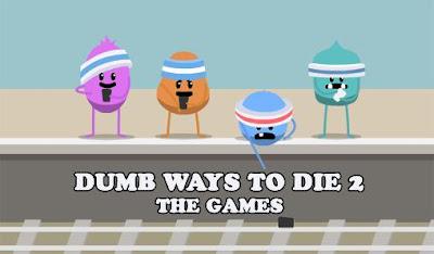 Dumb Ways to Die 2 The Games Mod Unlocked Apk + Data Download Offline