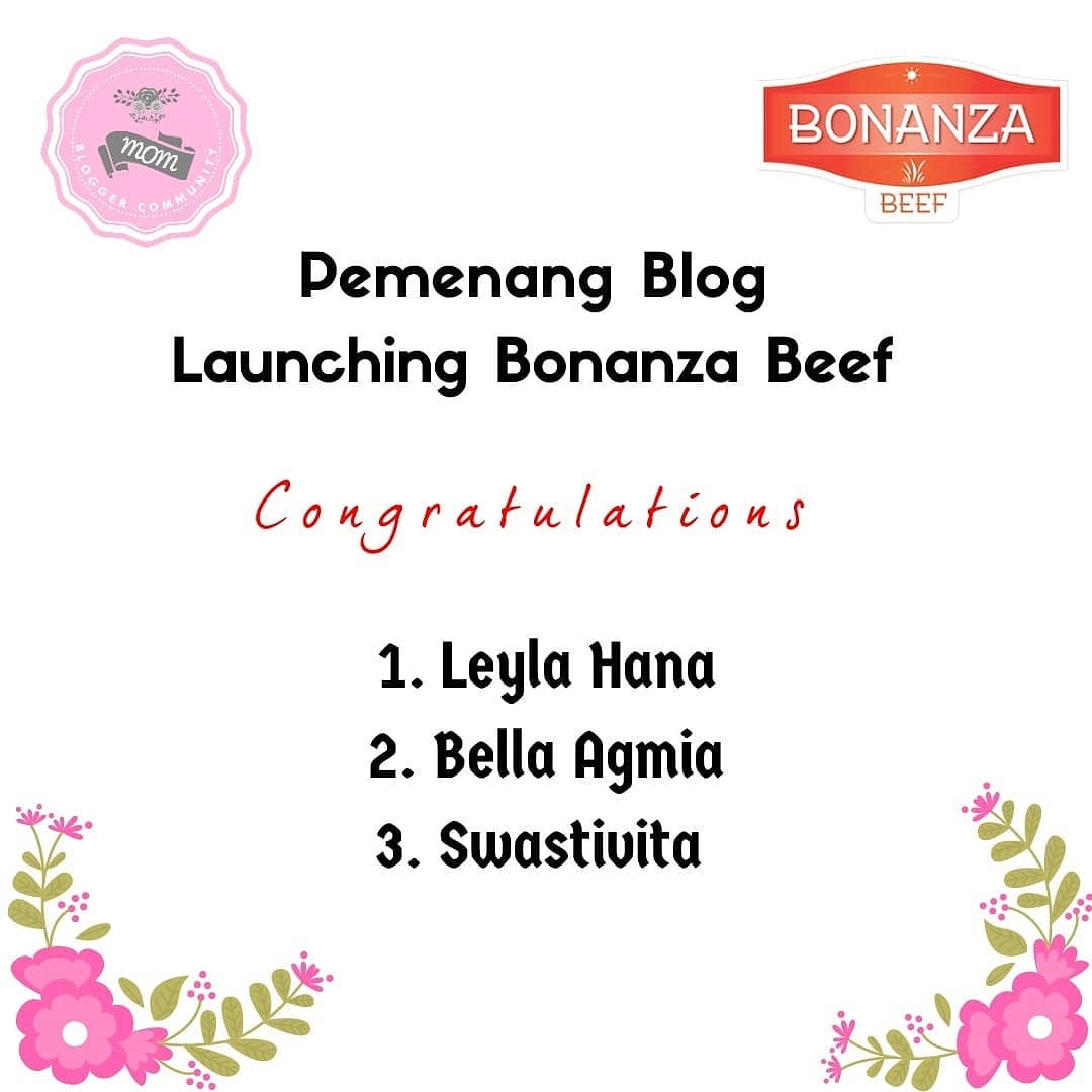 3rd Winner, MBC x Bonanza Blogger Competition