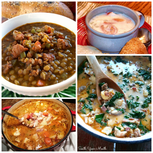 16 Soup & Stew recipes PERFECT for cold weather