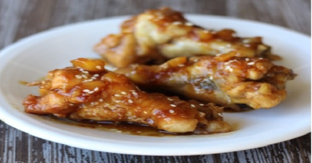 Crockpot Teriyaki Pineapple Chicken Wings Recipe