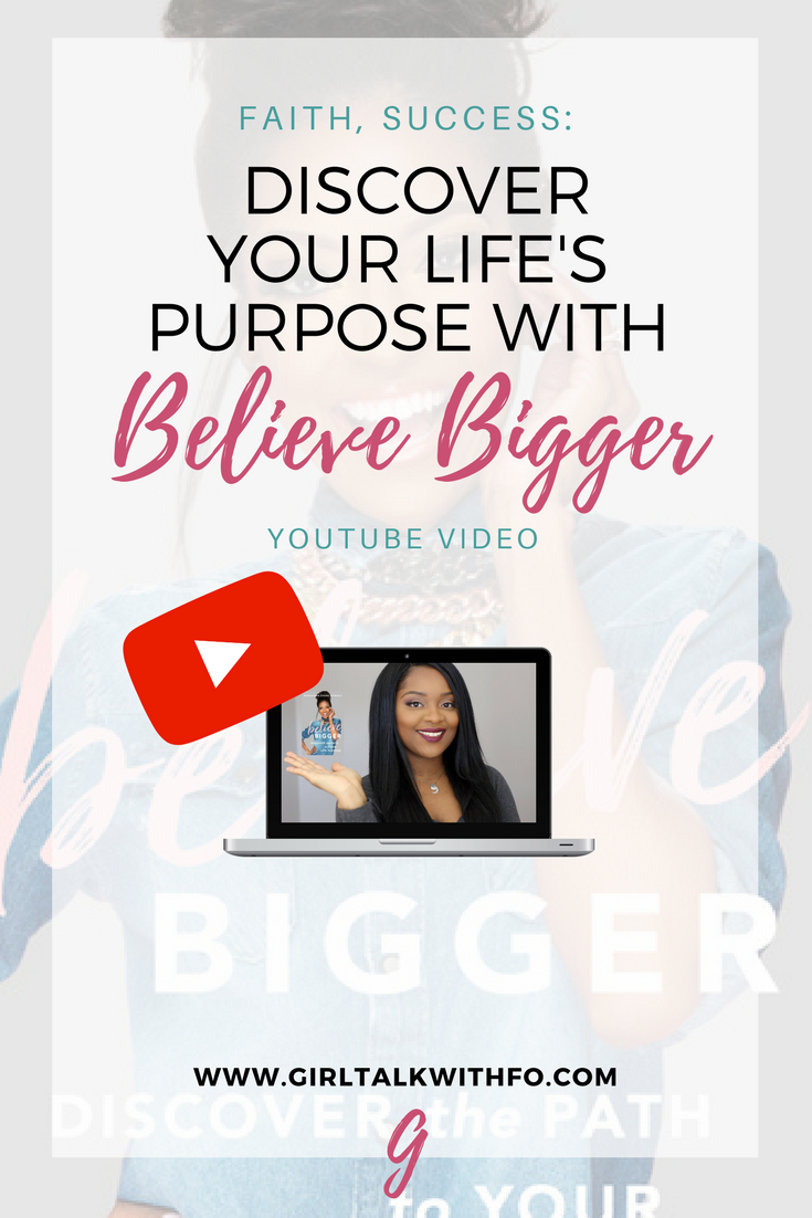 How to Discover your Life's Purpose with Marshawn Evans Daniels | Believe Bigger book Review