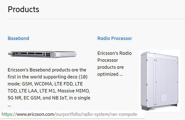 Ericsson debuts RAN Compute, Spectrum Sharing software ~ Converge
