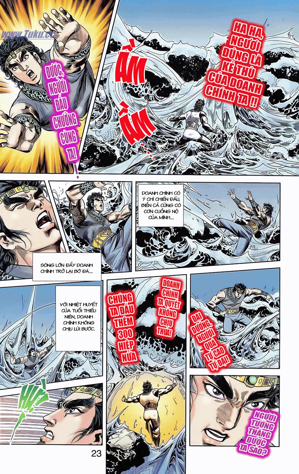 Tần Vương Doanh Chính chapter 6 trang 11