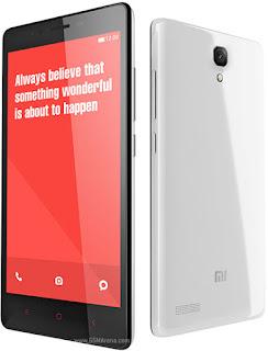 Xiaomi Redmi Note 4G - Harga dan Spesifikasi Lengkap