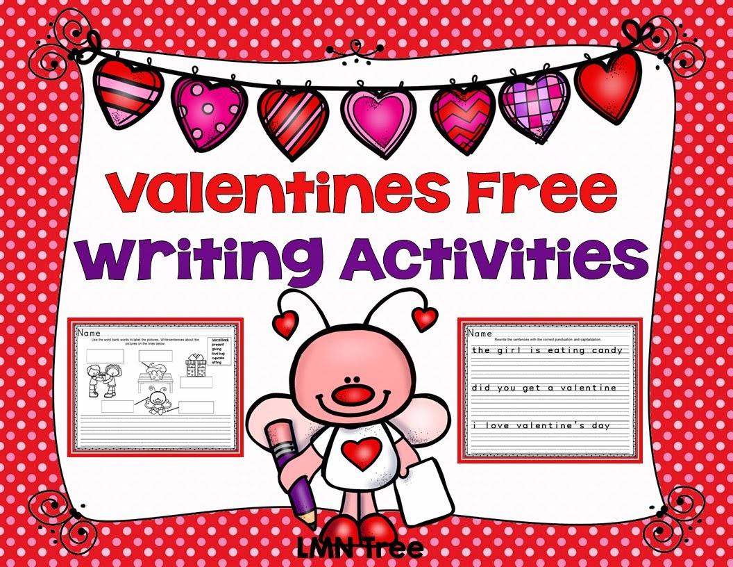 Classroom Freebies Valentine S Writing Activities