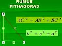 Penjelasan Rumus Teorema Pythagoras Pada Bangun Datar, Contoh Soal dan Pembahasannya