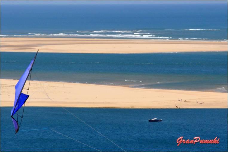 Blog de Viajes. Resumen Viajero: Vistas del Atlántico desde la Duna de Pilatos en Arcachón