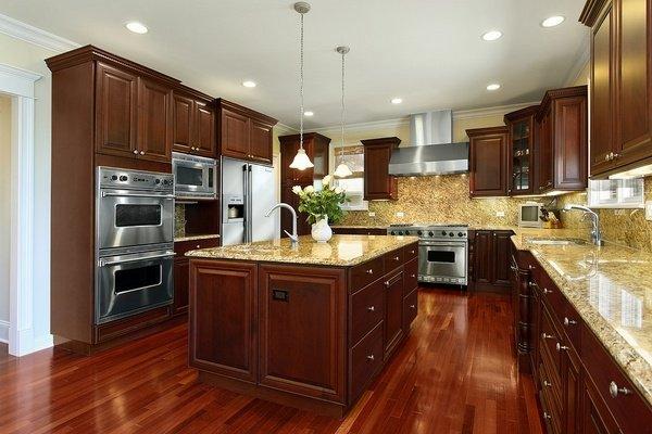 Lapidus Gold Granite Kitchen Countertops Ideas
