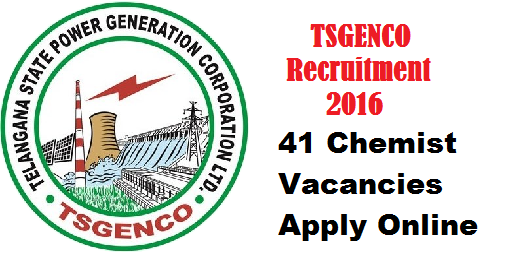 TSGENCO Recruitment 2016 – 41 Chemist Vacancies Apply Online/2016/05/tsgenco-recruitment-201641-chemist-vacancies-apply-online.html