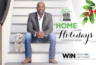 Darius Rucker Home For The Holidays Sweepstakes