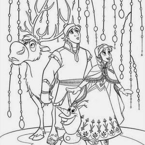Fun learn free worksheets for kid frozen disney for Frozen sven coloring pages