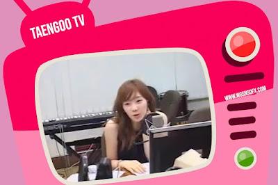 SNSD Taeyeon Chin Chin Radio