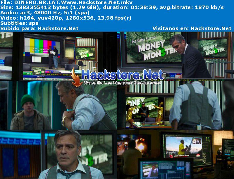 Capturas de El Maestro del Dinero (2016) Blu-Ray RIP HD Latino + Subs