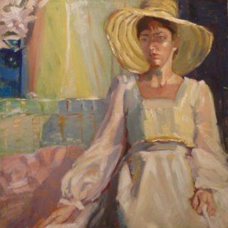 Польская художница. Irena Jablonski