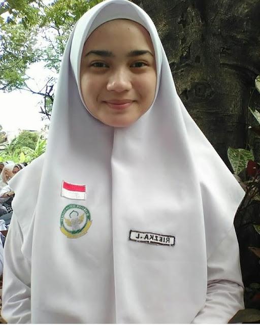 School Girl Wearing Hijab