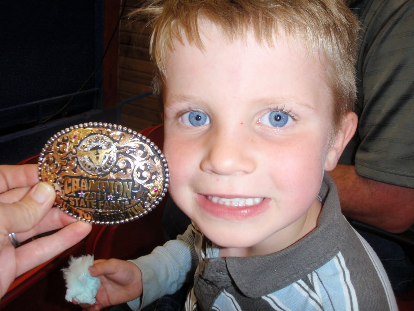 The Balcer Bunch Mutton Bustin And The Star Of Texas Rodeo