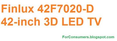 Finlux 42-inch 3D LED TV