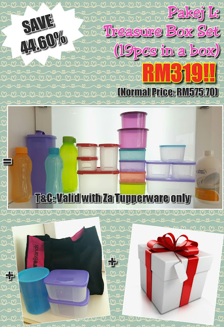 Tupperware membership package Jan - Feb 2017