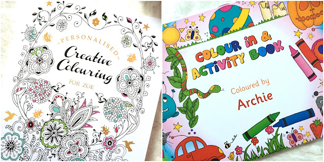 Personalised Colouring Books For Adults And Children