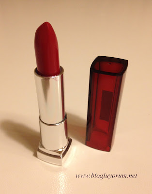 Maybelline Color Sensational 547 Pleasure Me Red