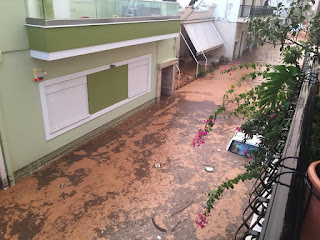 Inondations meurtrières en Grèce