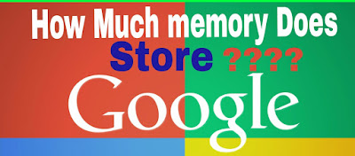How Much Data Does Google Store???