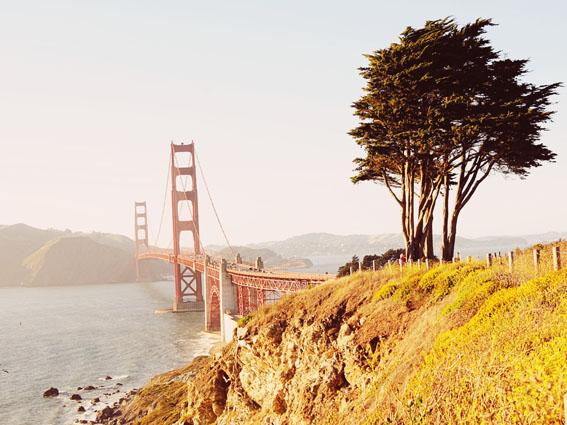 best views of the golden gate bridge coastal trail