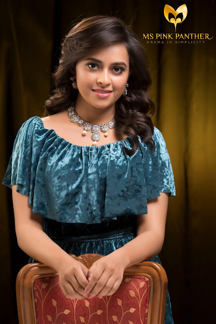 Sri Divya Beautiful Photo For Ms Pink Panther Jewellery Ad