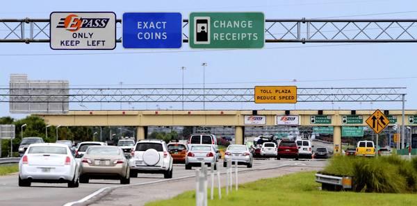 Peajes con un auto alquilado en Estados Unidos