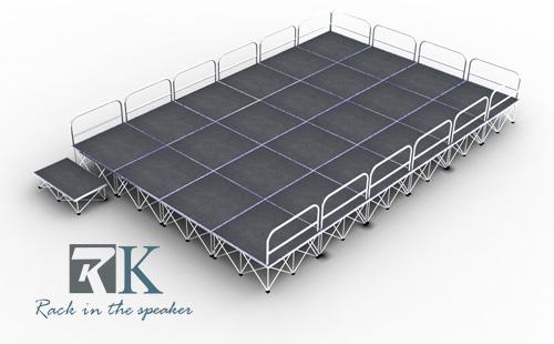 aluminum portable stage