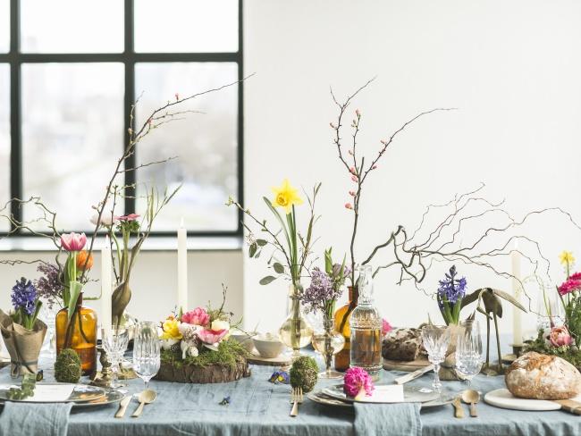 Nat et nature, le blog: Déco de Pâques - Inspirations florales